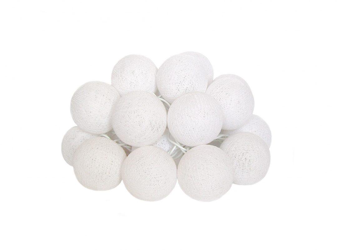 cotton lights burbulų girlianda
